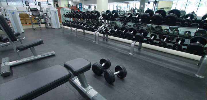 Tapetes para gimnasio y crossfit
